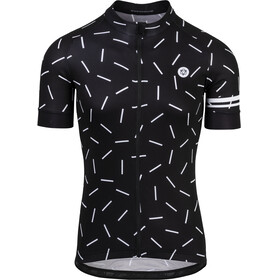 AGU Hail Short Sleeve Jersey Men black/white